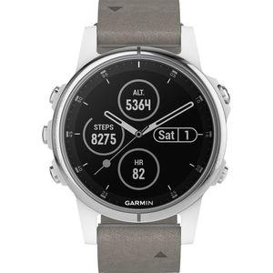 "Garmin Damen Smartwatch fenix® 5S Plus Sapphire Weiß ""010-01987-05"""