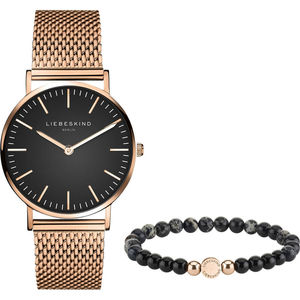 "Liebeskind Damenuhr mit Armband ""LS-0065-MQB"""