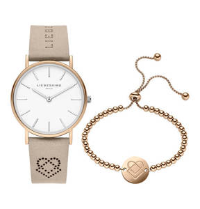 Liebeskind             Set Damenuhr und Armband LS-0063-LQB