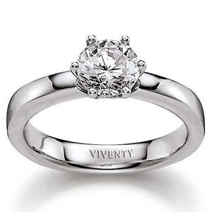Viventy Ring mit Zirkonia, 925er Silber