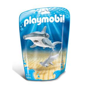 PLAYMOBIL® Family Fun Hammerhai mit Baby 9065
