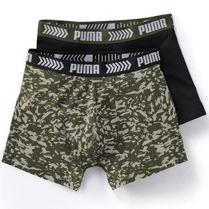 Puma Herren Boxer im 2er-Pack, gemustert