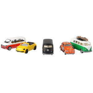 VW-Collection Geschenkbox mit 5 Autos