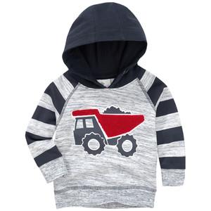 Jungen Sweatshirt mit LKW-Motiv