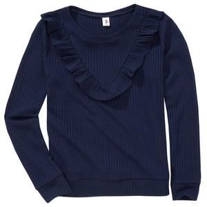 Mädchen Pullover mit Volants