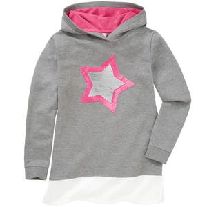 Mädchen Sweatshirt mit Wendepailletten