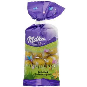 Milka Ostereier Praliné Krokant