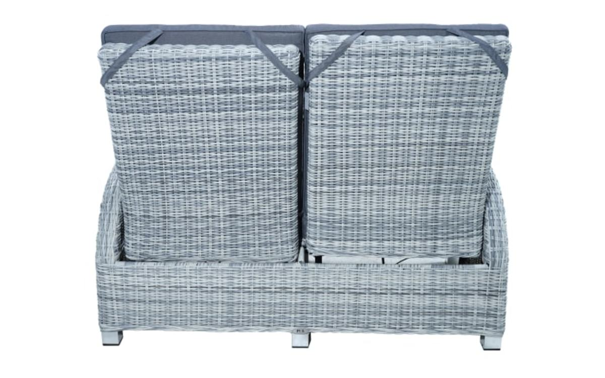 Bild 3 von Ploß & Co. - Garten-Loungesofa Petrana in grau-weiß, meliert