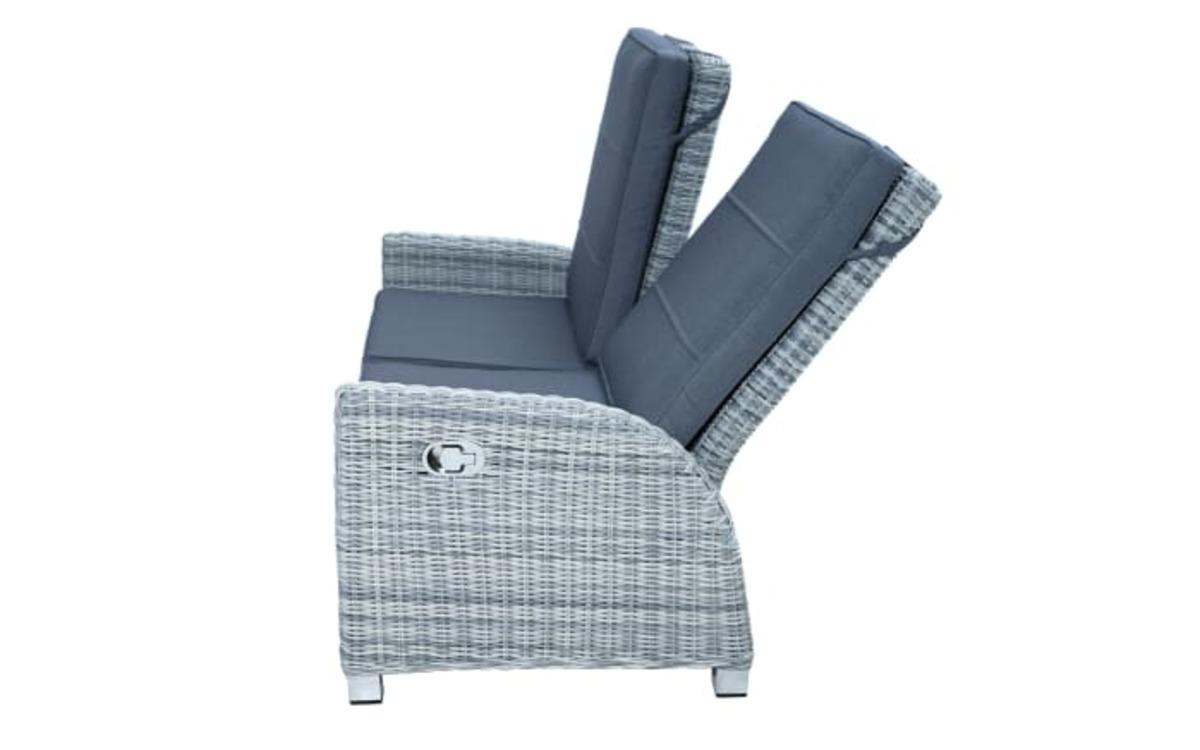Bild 4 von Ploß & Co. - Garten-Loungesofa Petrana in grau-weiß, meliert