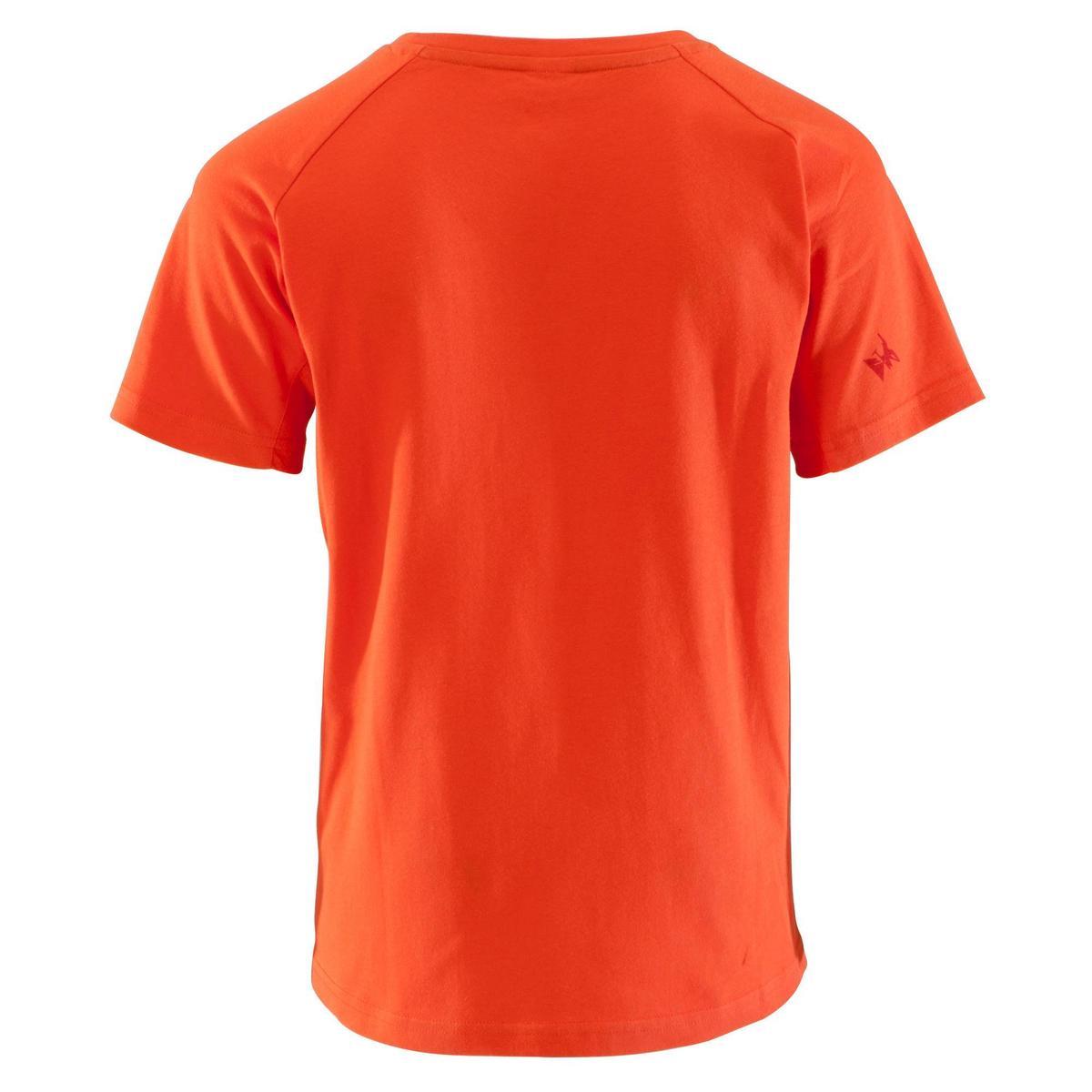Bild 4 von Kletter-T-Shirt Kinder Kurzarm rot