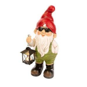 Deko-Figur Eugen mit Laterne