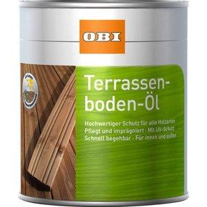 OBI Terrassenboden-Öl Bangkirai 750 ml