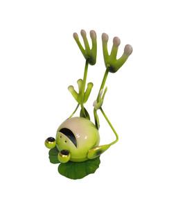 Dehner Metall-Frosch Yoga, liegend