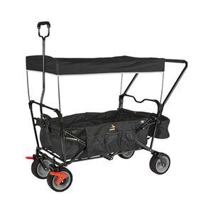 Pinolino   Klappbollerwagen Paxi Comfort mit Bremse schwarz