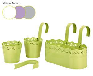 GARDENLINE®  Pflanzgefäß mit Hängebügel