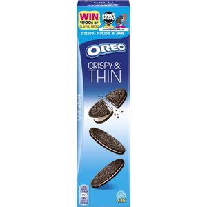 Oreo Crispy & Thin Kakaokekse 1.03 EUR/100 g