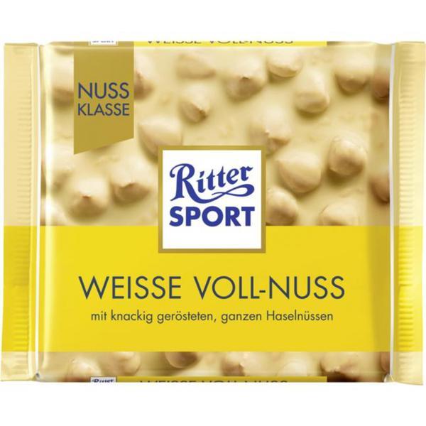 Ritter Sport Weisse Voll-Nuss Tafelschokolade