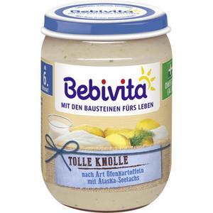 Bebivita Tolle Knolle nach Art Ofenkartoffeln mit Alask 0.42 EUR/100 g (6 x 190.00g)