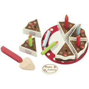 IDEENWELT Holzkuchen Erdbeere