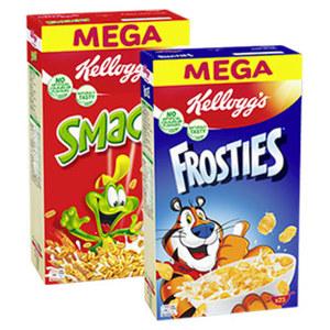Kellogg´s Frosties jede 700-g-Packung und weitere Sorten,