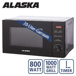 Mikrowelle MWD 8820 G Digital · 5 Leistungsstufen  · 2 Kombiprogramme (Mikro/Grill) · Auftau- und Schnellkochfunktion · Maße: H 34,6 x B 44,0 x T 25,9 cm