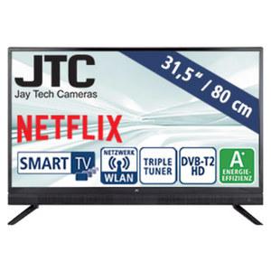 "31,5""-LED-HD-TV Atlantis Sound 3.2N 3 HDMI-/2 USB-Anschlüsse, CI+, Stand-by: 0,5 Watt, Betrieb: 31 Watt, Maße: H 47,0 x B 73,2 x T 8,1 cm, Energie-Effizienz A+ (Spektrum A++ bis E)"