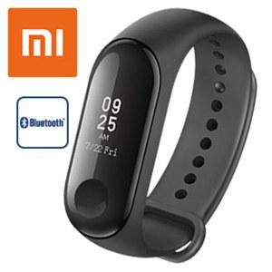 Mi Band 3 · 1,98 cm (0,78'') Full OLED Touch Display  · Herzfrequenz Sensor, Schrittzähler, Kalorienzähler, Schlafanalyse · Smartphone Benachrichtigungen · Wasserdicht bis 50 Meter