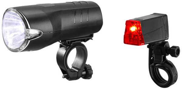NEWLETICS®  LED-Fahrradleuchten-Set
