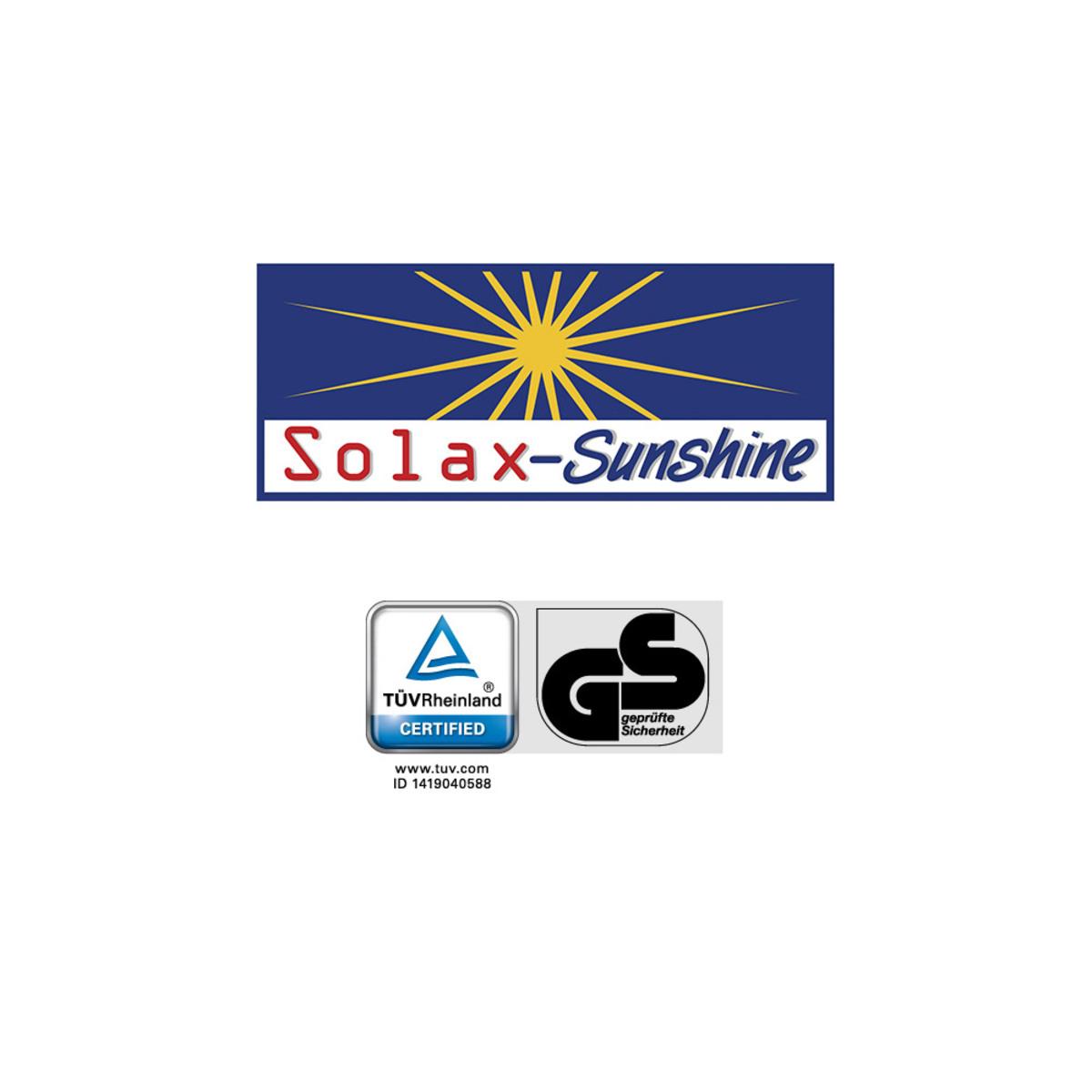 """Bild 3 von Solax-Sunshine Geflecht-Klappsessel """"Genua"""", Grau-Anthrazit"""