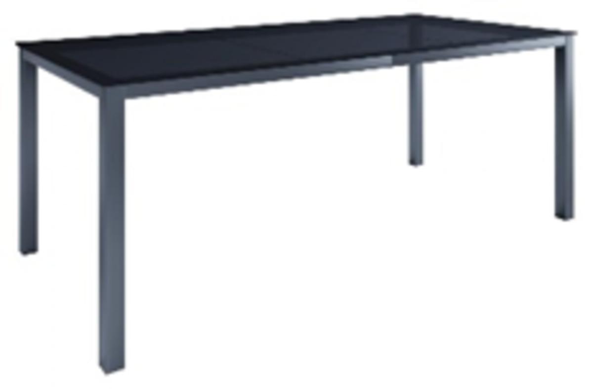 Bild 2 von Chillroi Aluminium Gartentisch mit Glasplatte - Anthrazit