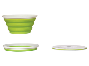 Kalorik Faltbare Design Küchenwaage TKG EKS 1004 Weiß/Grün
