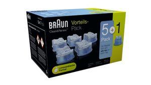 Braun Reinigungskartuschen CC-System Reinigungskartuschen - 5+1