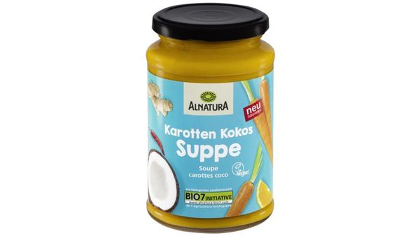 Alnatura Karotten Kokos Suppe