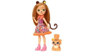 Mattel - Enchantimals - Gepardenmädchen Cherish Cheetah Puppe