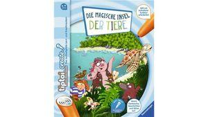 Ravensburger Buch - tiptoi Create - Die magische Insel der Tiere