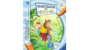 Ravensburger Buch - tiptoi Create - Schatzsuche im Dschungel