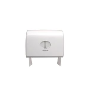 Aquarius (Kimberly-Clark) Toilettenpapier-Spender Manuell Doppelspender Kunststoff Weiß