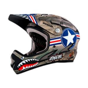 O´Neal Backflip Fidlock DH Kids Helmet | 48-50 cm | metal white