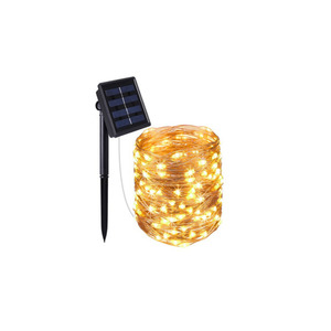 ProVida Solar Lichterdraht mit 100 LED´s