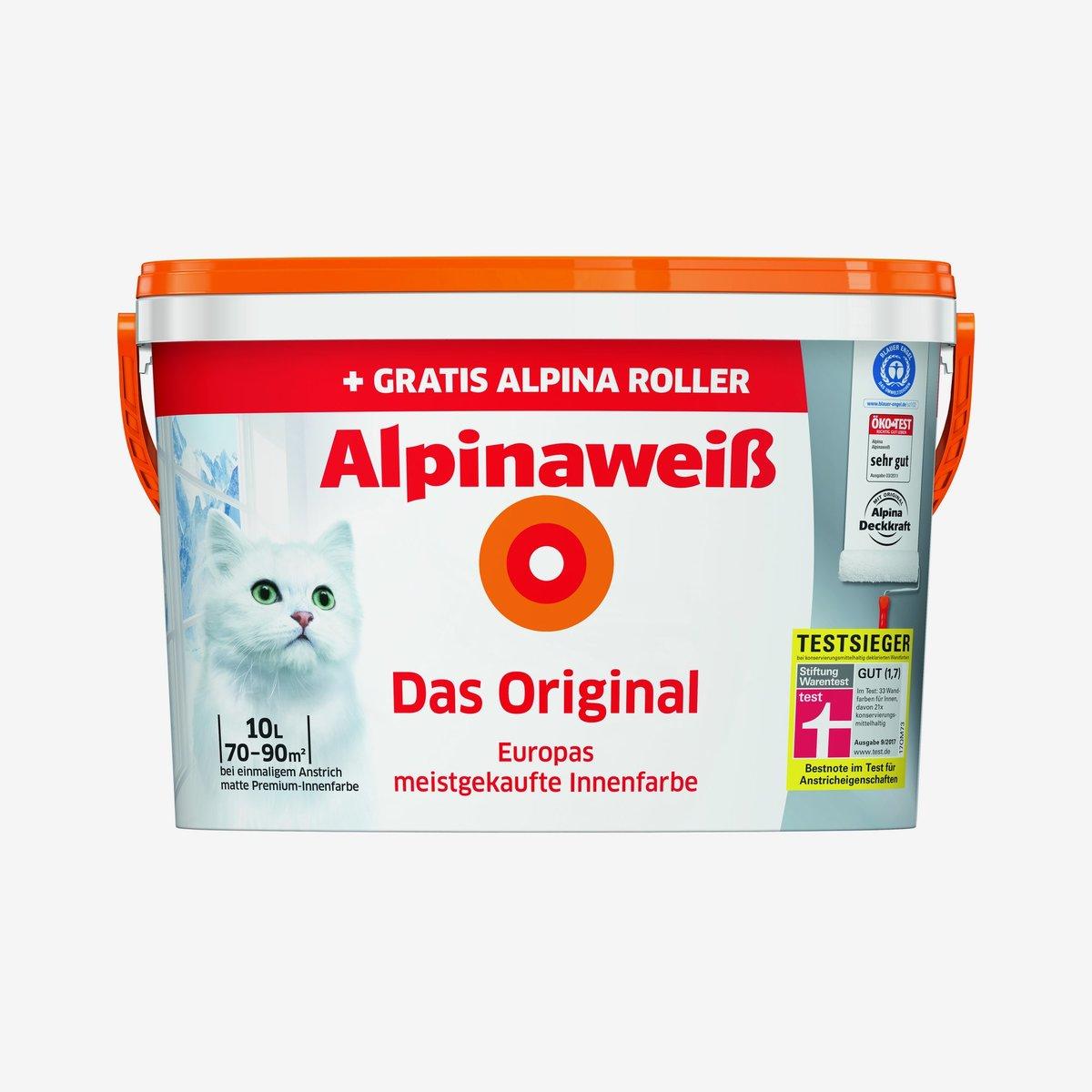 Bild 1 von Alpinaweiß 'Das Original' mit gratis Alpina Roller