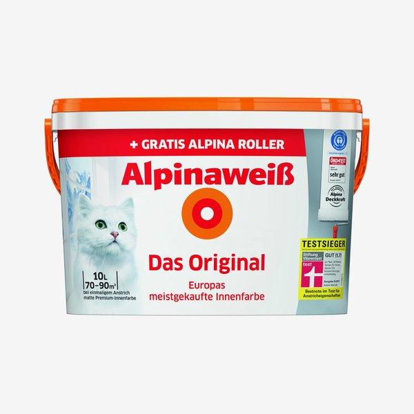 Alpinaweiß 'Das Original' mit gratis Alpina Roller