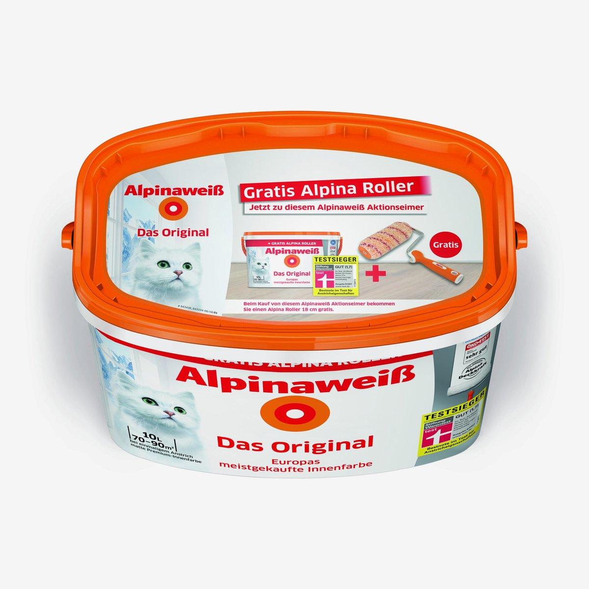 Bild 2 von Alpinaweiß 'Das Original' mit gratis Alpina Roller