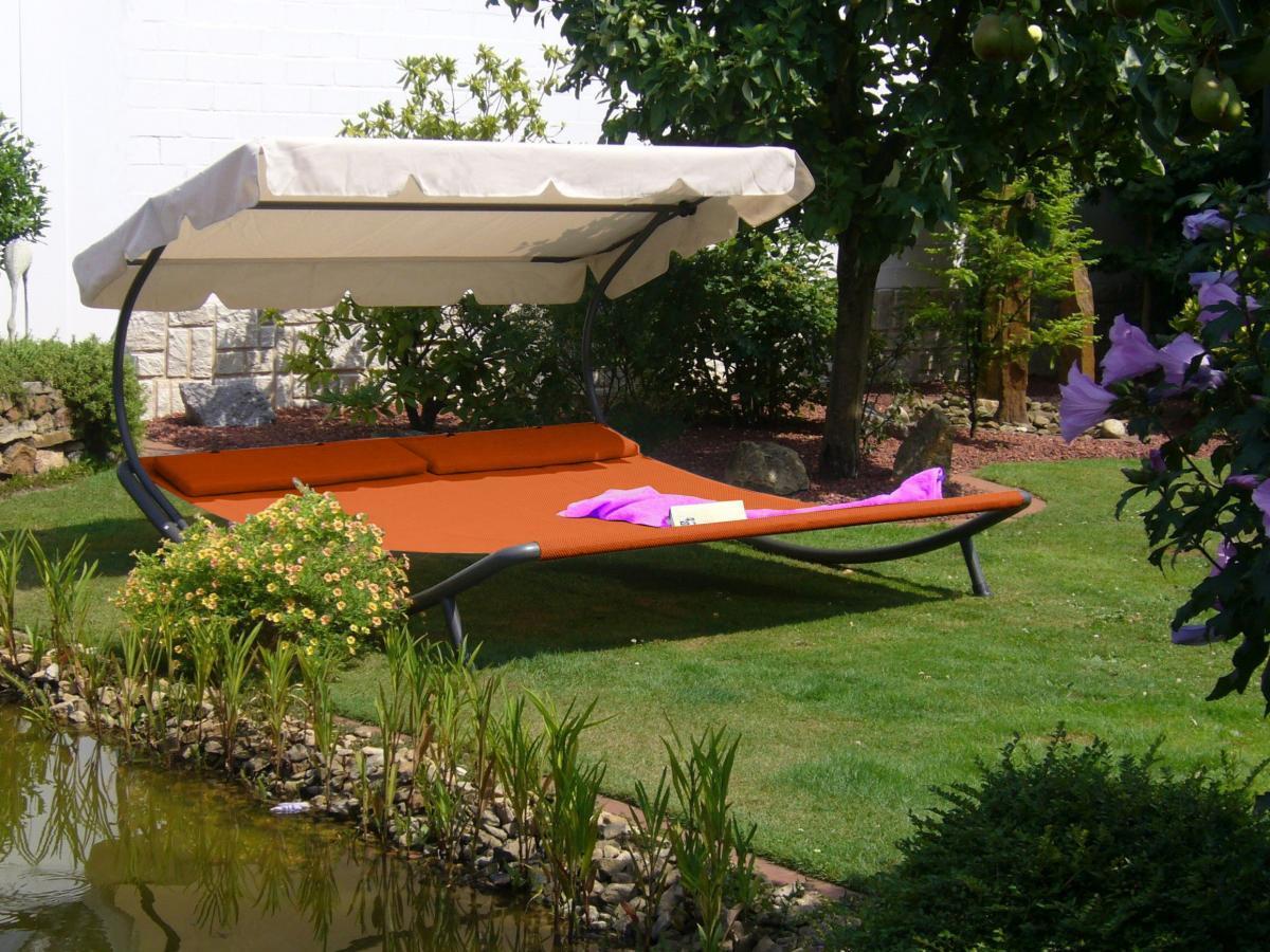 Bild 1 von Solax Sunshine Doppel-Gartenliege, Terracotta
