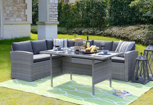 Happy Home Lounge-Set HGE09-GRA