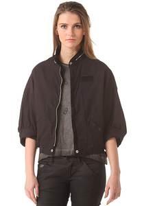 G-STAR RAW Kano Bomber Overshirt - Jacke für Damen - Schwarz
