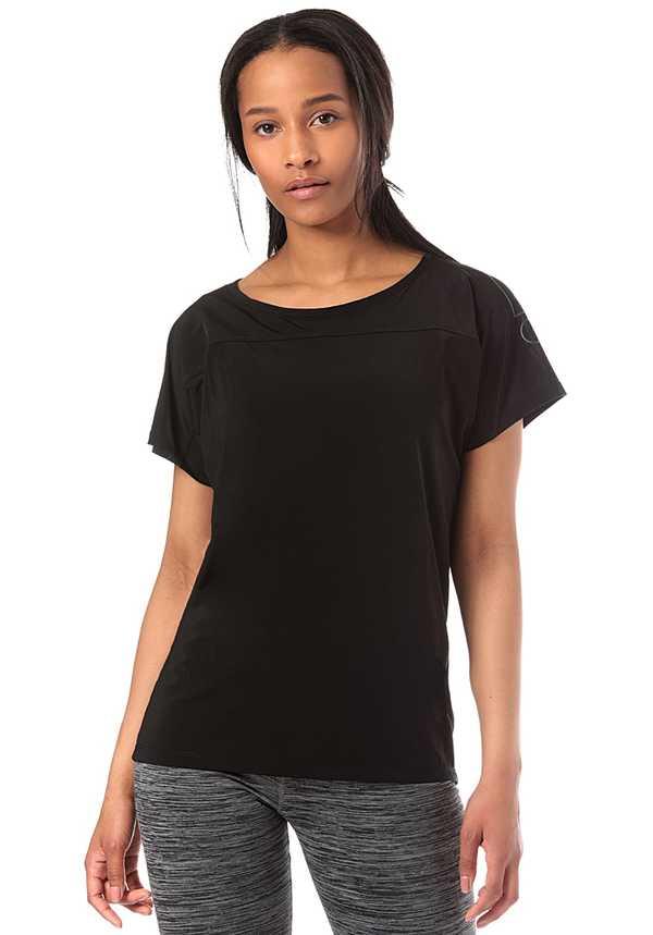 Bench. Loose Active - T-Shirt für Damen - Schwarz