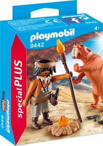 Playmobil 9442 Neandertaler mit Säbelzahntiger