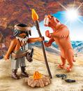 Bild 2 von Playmobil 9442 Neandertaler mit Säbelzahntiger