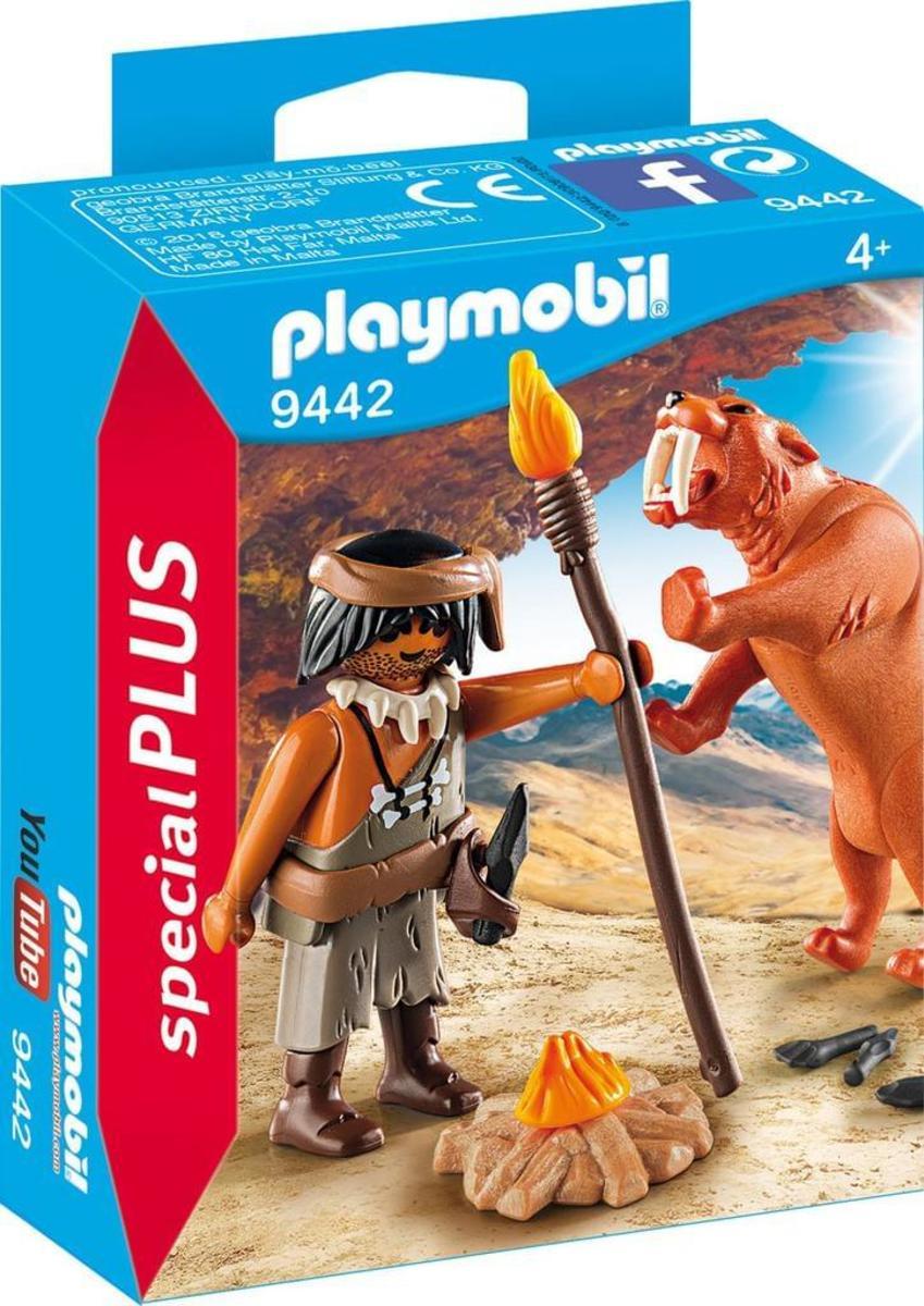 Bild 5 von Playmobil 9442 Neandertaler mit Säbelzahntiger