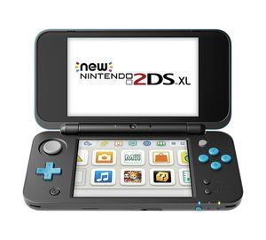 New Nintendo 2DS XL, Farbe Schwarz/Türkis